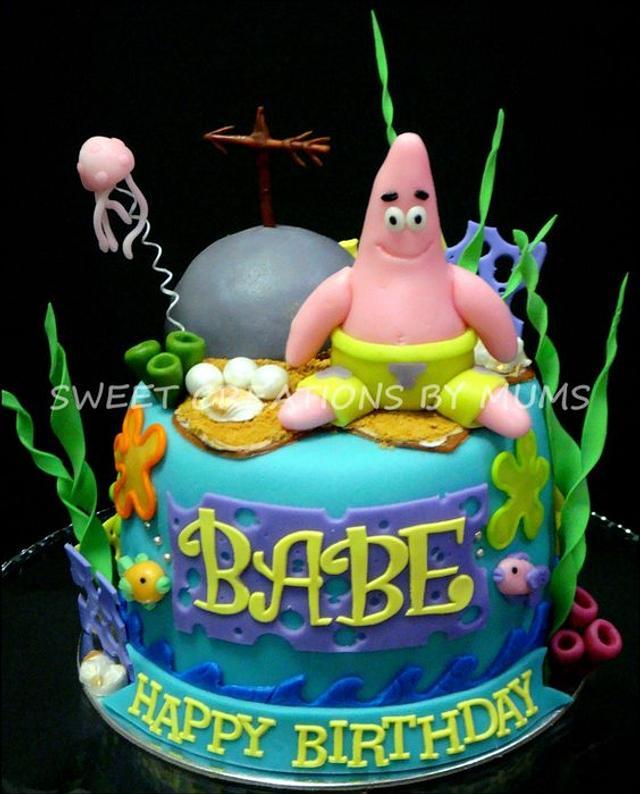 Patrick ( Spongebob ) Themed Cake