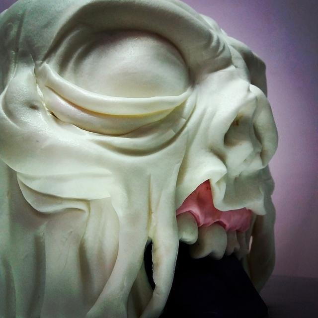 Brain Zombie cake