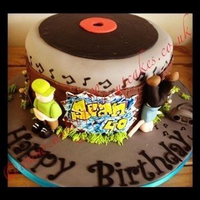 Break dancer / Skater Cake