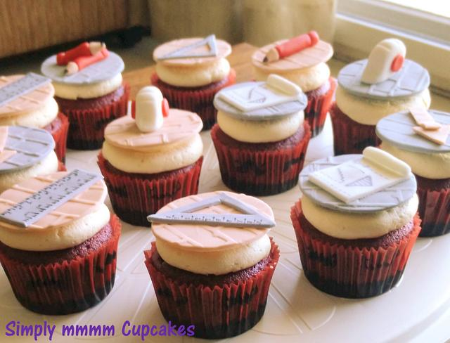 Cupcakes for an architect