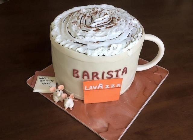 Barista Cup Cake..!!
