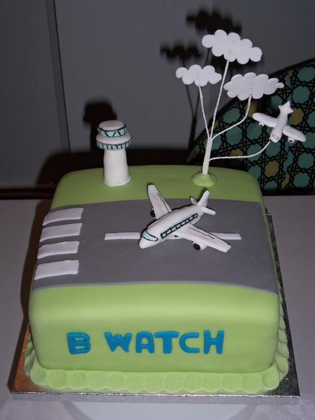 Aeroplane/air traffic control Cake