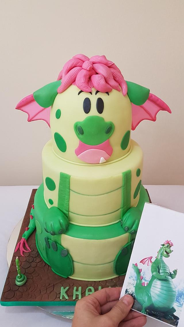 """Cutty"" Dragon Cake"