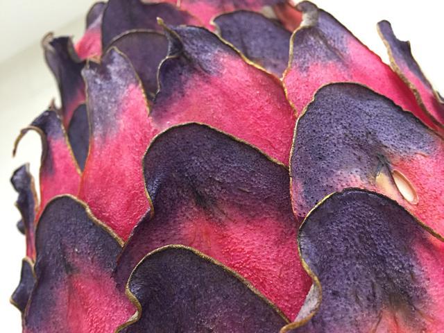 Pear cake - pink & purple