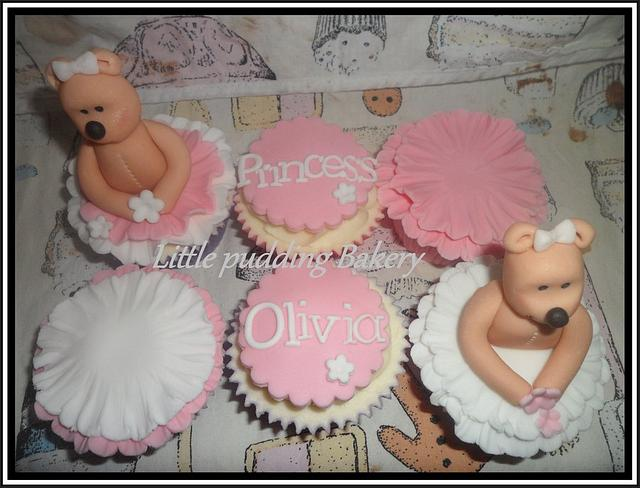 Pink Frilly cupcakes :)