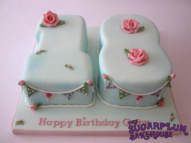 Cath Kidston Inspired 18th Birthday Cake