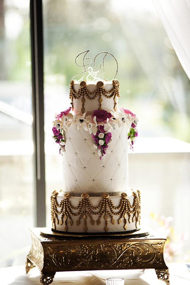 Bling and Gold Wedding