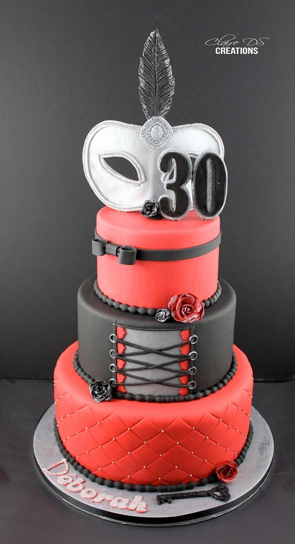 Cake inspired 50 Shades of grey