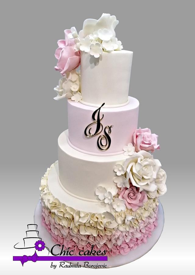 Wedding cake.....