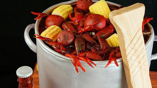 Crawfish Boil with all the Trimmings