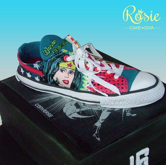 Wonder Woman Converse Sneaker