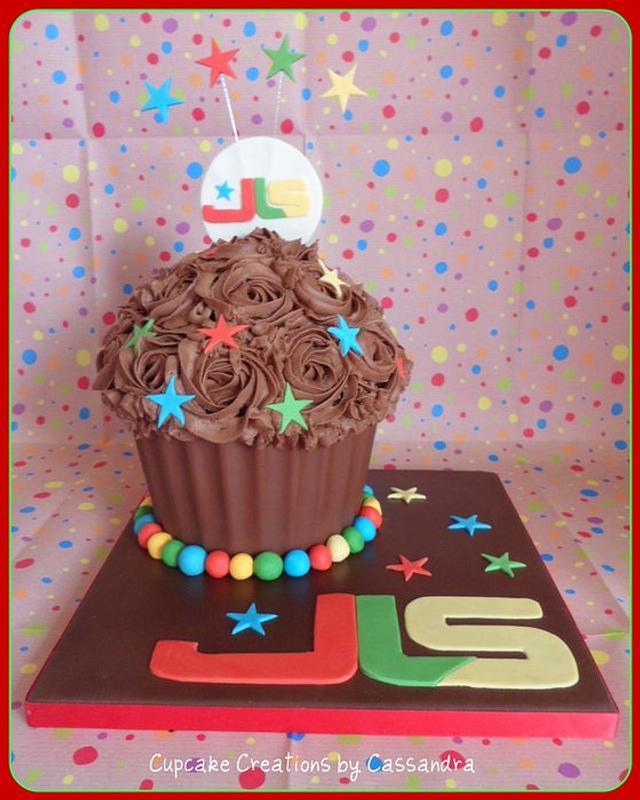 JLS Giant Cupcake
