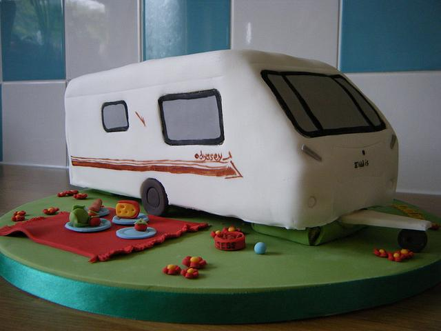 Caravan 60th Birthday Cake!