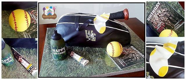 Softball/Duck Dynasty Cake