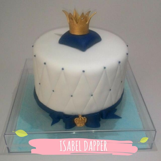 Royal cake for a little prince
