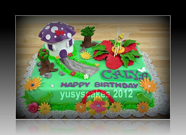Tinkerbell Cake