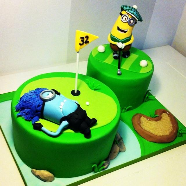 Bad shot cake