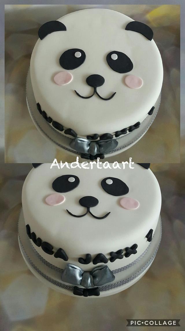 Cute panda cake!