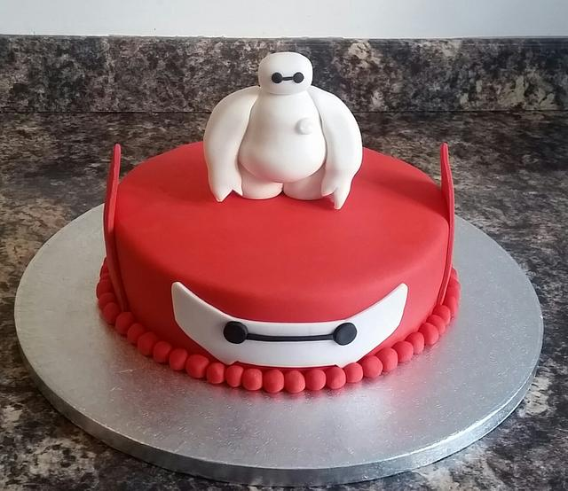 Pleasing Baymax Big Hero 6 Birthday Cake Cake By Sugar Chic Cakesdecor Funny Birthday Cards Online Alyptdamsfinfo