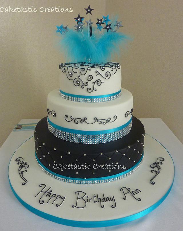 Astonishing Classy Birthday Cake Cake By Caketastic Creations Cakesdecor Funny Birthday Cards Online Overcheapnameinfo