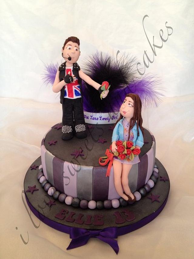 Sensational Justin Bieber Birthday Cake Cake By Vicki Graham Cakesdecor Funny Birthday Cards Online Elaedamsfinfo