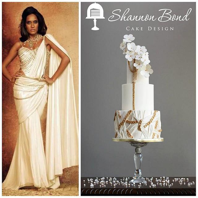 Elegant Indian Fashion Collaboration