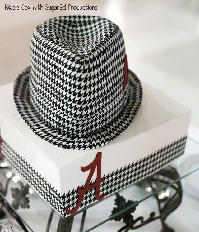 Houndstooth Cake