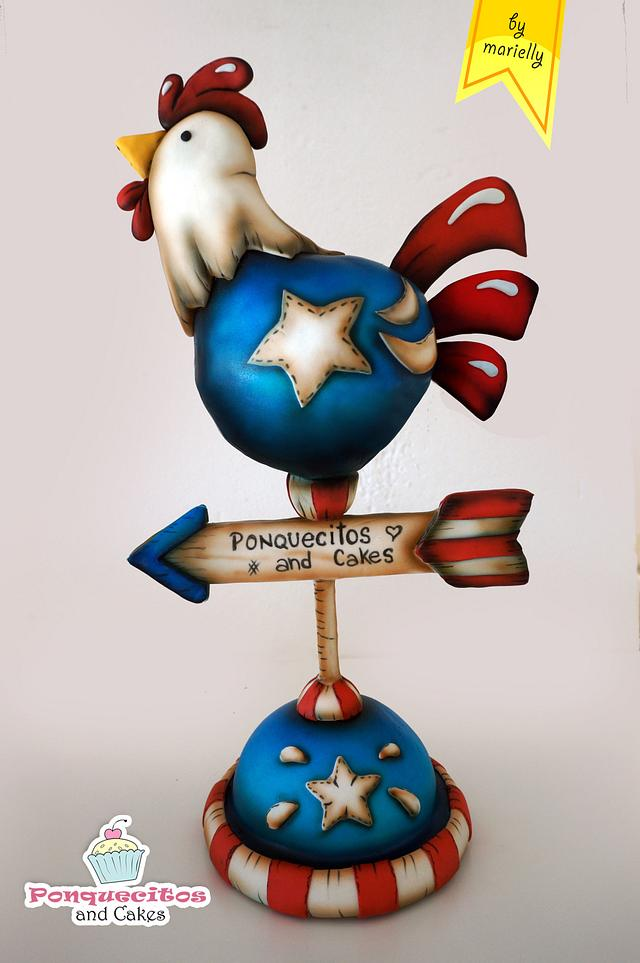 American Country Cake