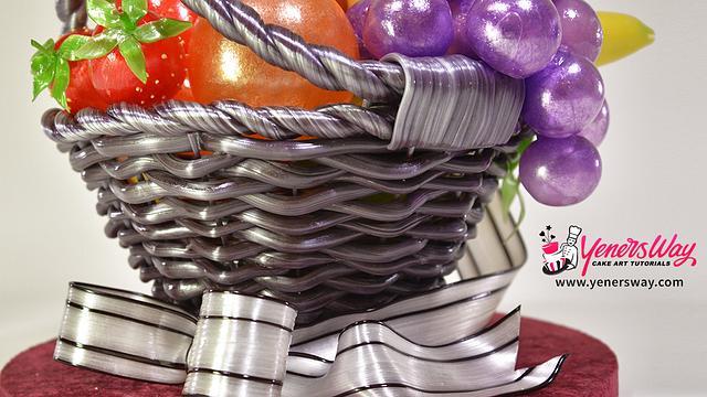 Isomalt Fruit Basket
