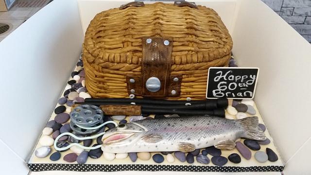 Sea Fisherman Cake