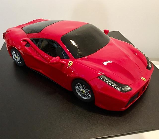 Ferrari 488 cake !