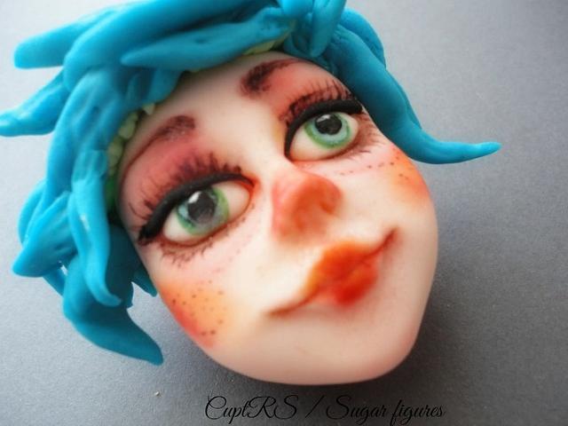 """Clown girl "" New Sugar Face"