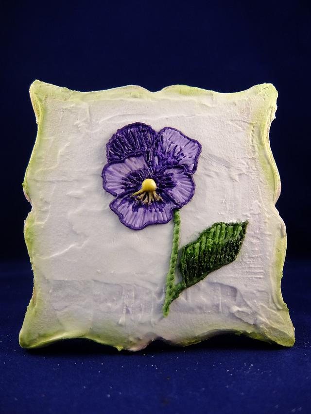 Embrodeiry flower - Flor bordada