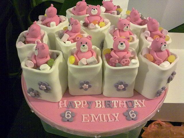 Teddy Bear Mini cakes