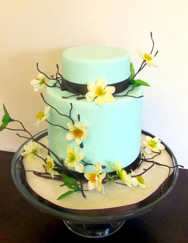 Spring Mini Tiered Cake!