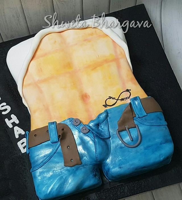 Cool Naughty  Cake -