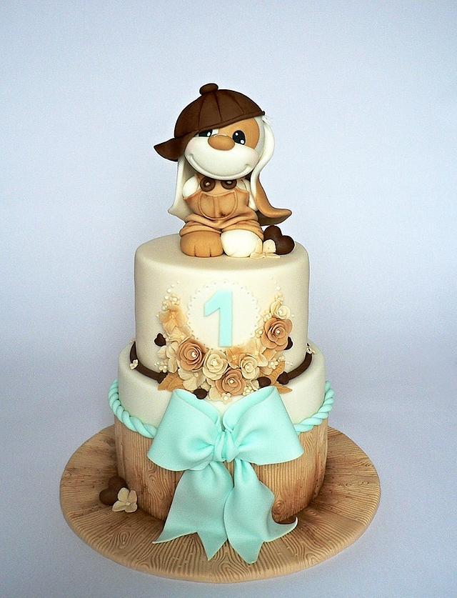 Imp bear cake
