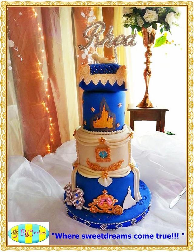 Cinderella Story Cake