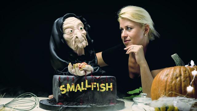 Halloween Witch Cake