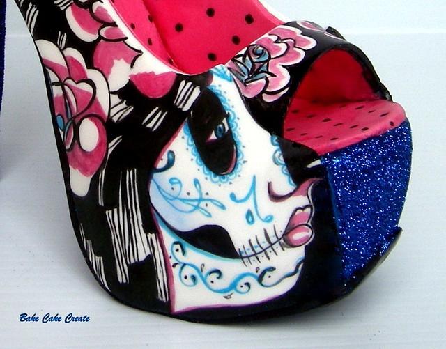 Sugar shoe for Sugar skulls 2016