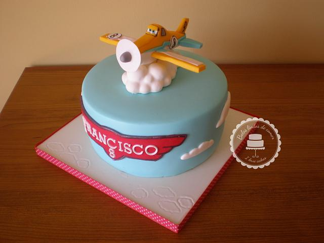 "Dusty ""Planes"" cake"