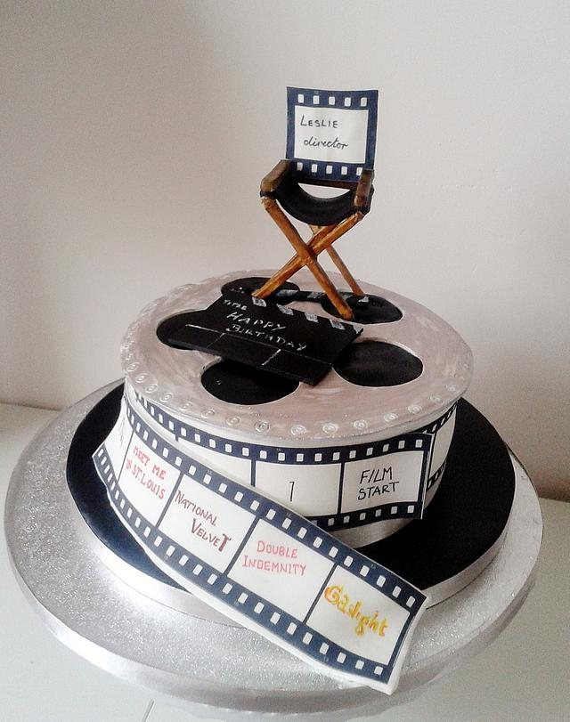Cake for a film lover
