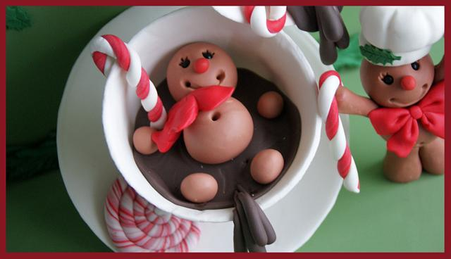 Sweet Christmas Collaboration Gingerbread Cookie men