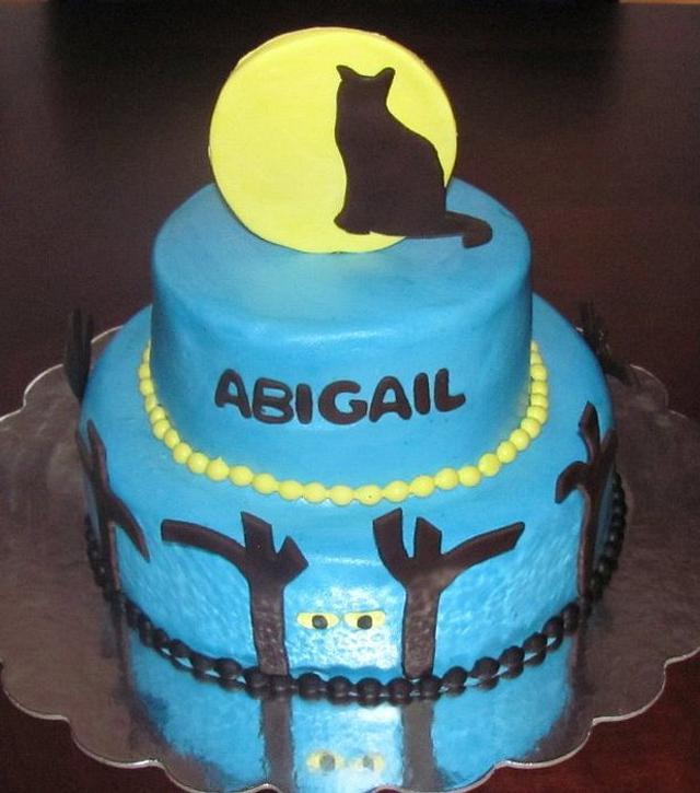 Cat Warriors Cake