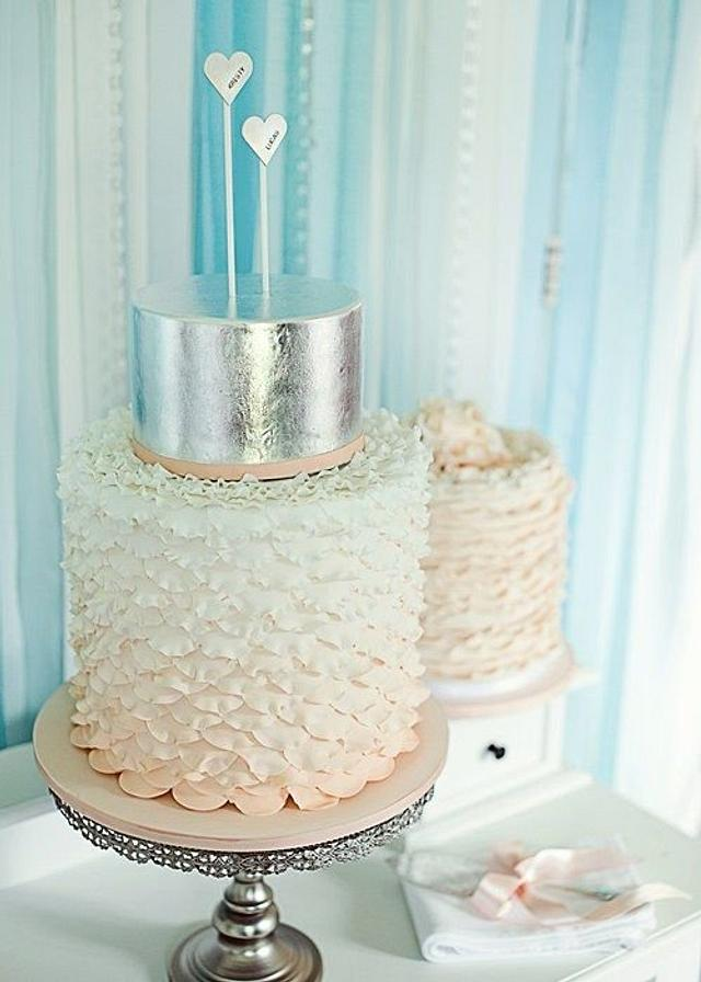 Enchanted Ruffle cake