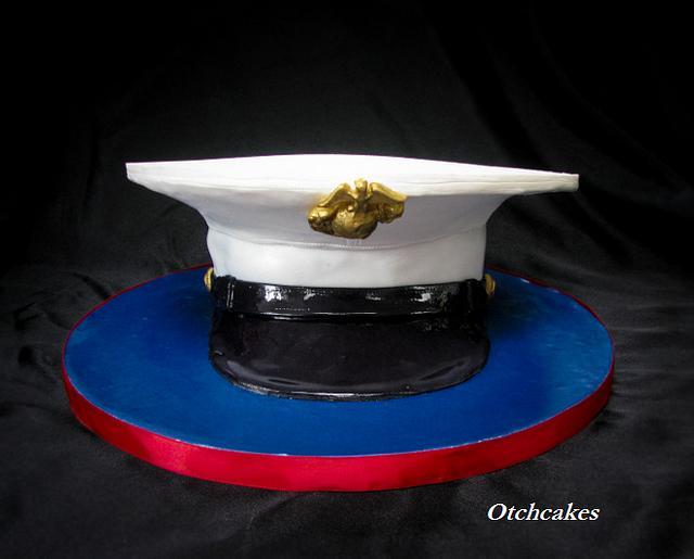 USMC Cover Cake