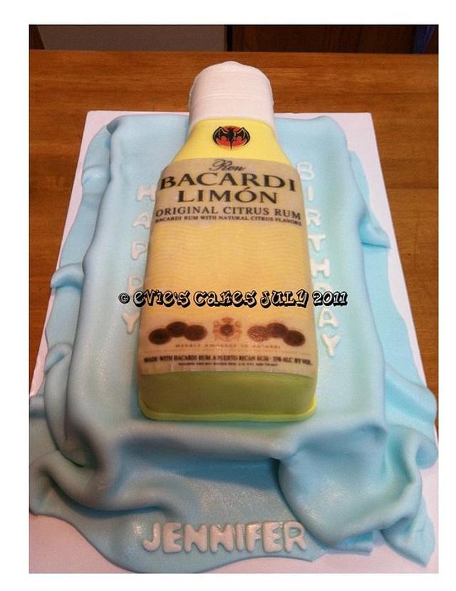 Bacardi Cake