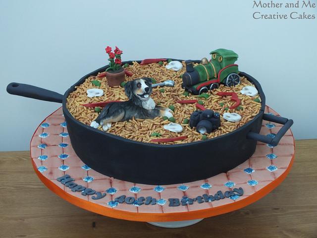 Paella Cake!
