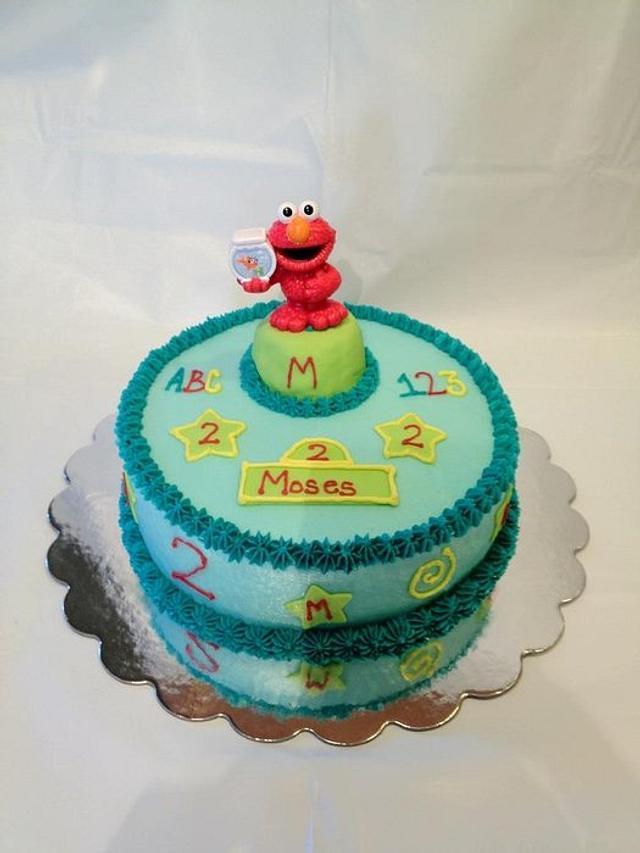 Elmo 2nd Birthday