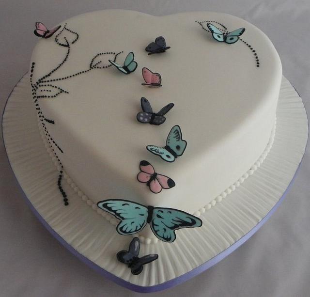 Hearty Butterflies
